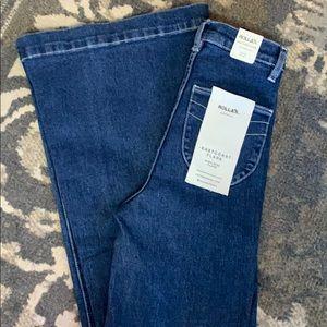 Rollas Pants - Rollas Flare Jeans.